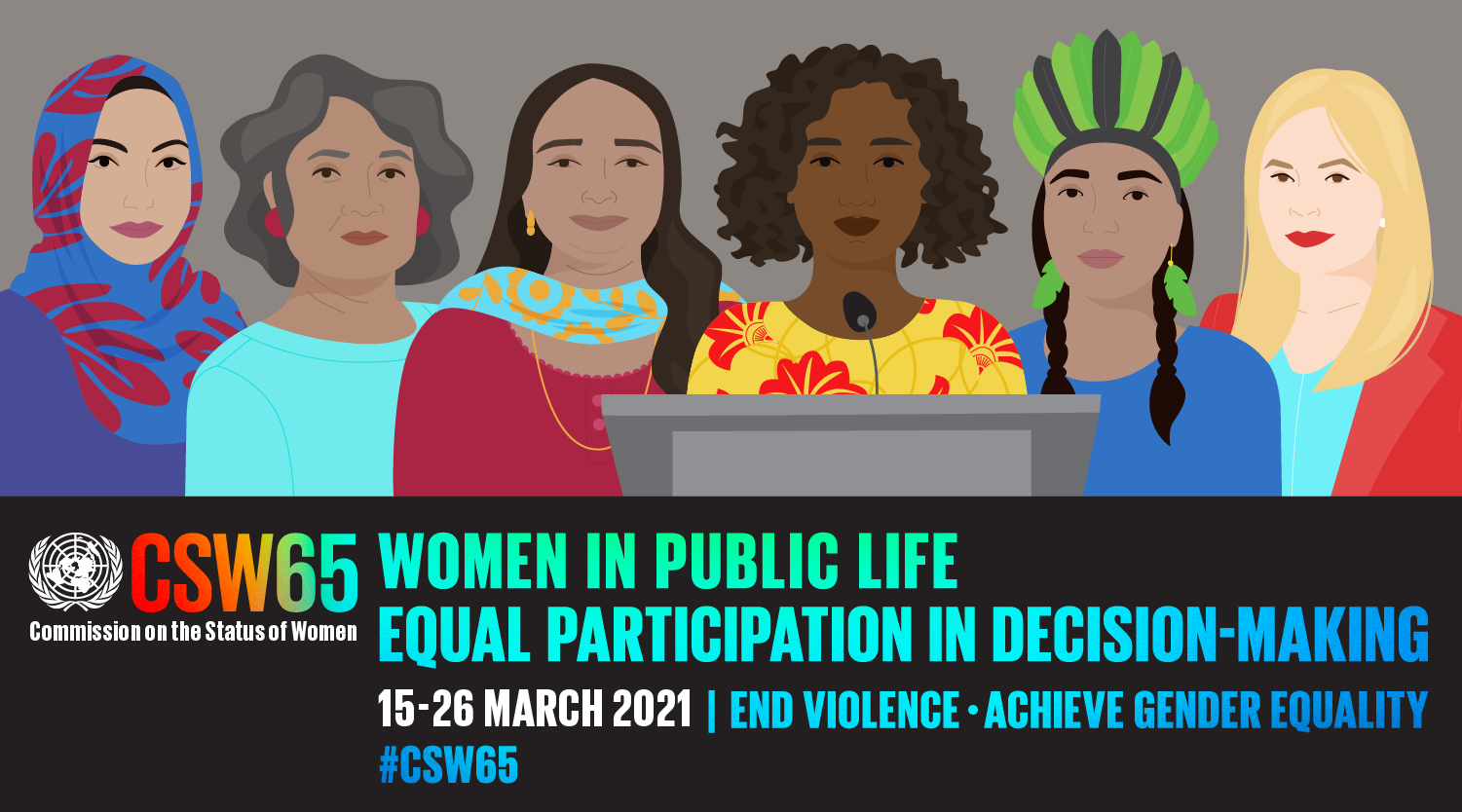 Commission on the Status of Women International Women's Day Graphic